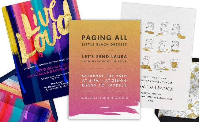 Get The Bachelorette Party Started With These 6 Fun Email Invites – Bachelor Party Email Invite