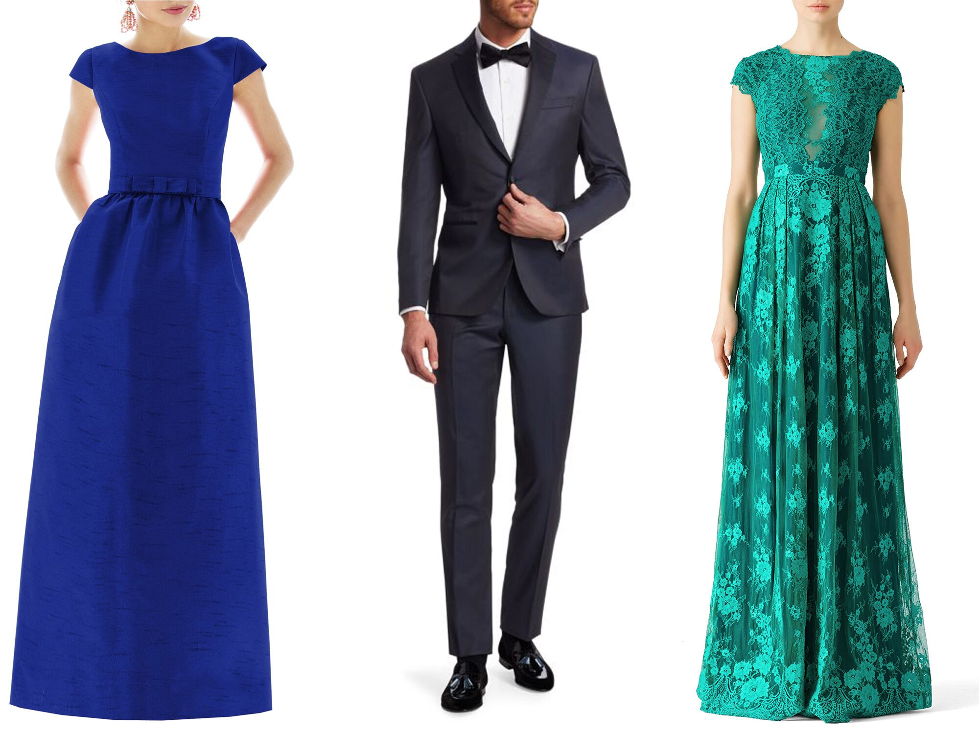 What to Wear to a Black Tie Wedding