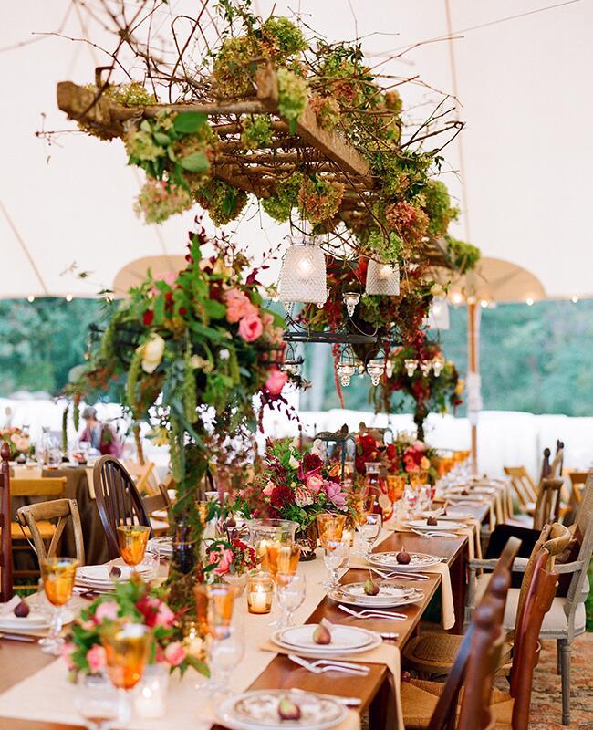 Wedding Reception Ideas For Fall: A Rustic Fall Wedding In Virginia -- See The Photos