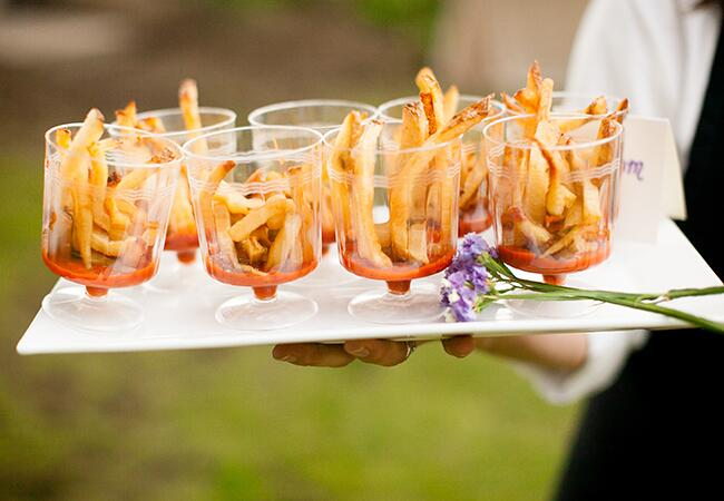 Wedding french fries |<img class=