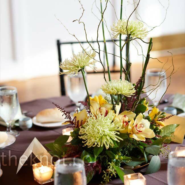 Wedding Flowers Lancaster Pa: Yellow Flower Arrangements
