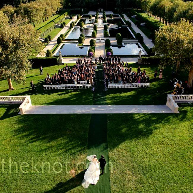 A Garden Wedding In Huntington, NY