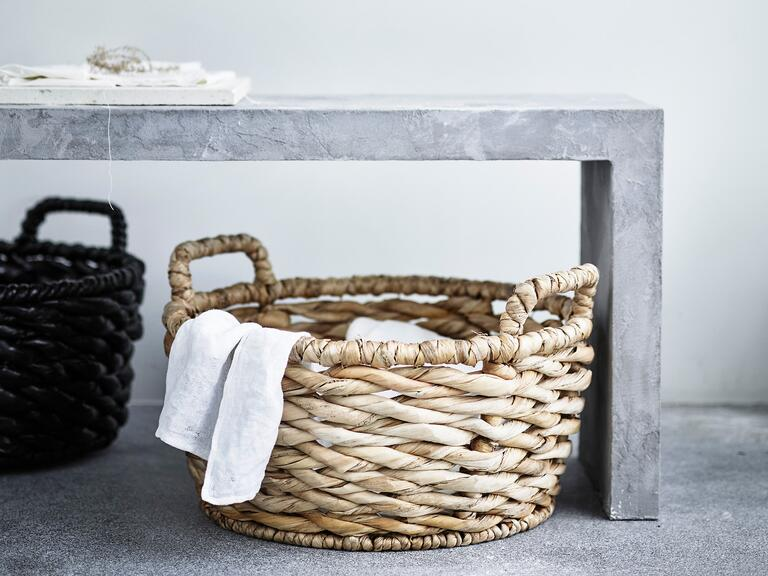 Handwoven baskets from Ikea's new home collection
