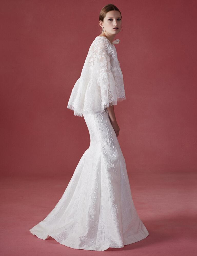 Oscar de la renta fall 2016 collection wedding dress photos for De la renta wedding dresses