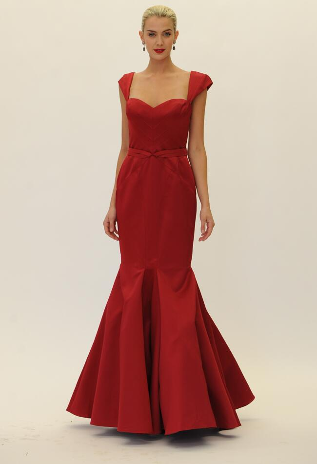 Truly zac posen fall 2014 wedding and occasion dresses for Truly zac posen wedding dress with sequin detail