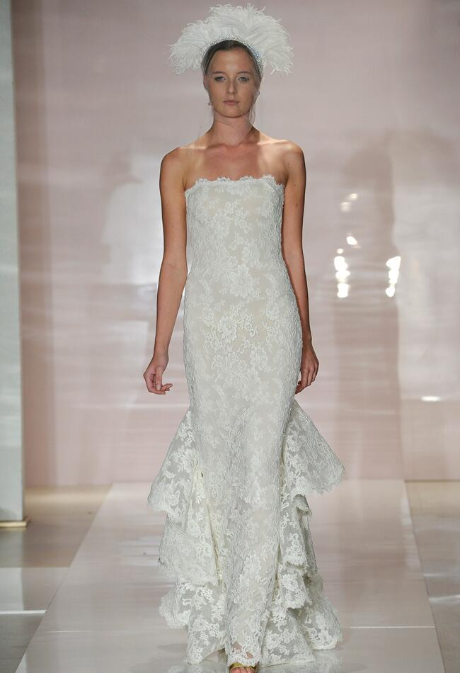 Reem Acra Fall 2014 Wedding Dresses