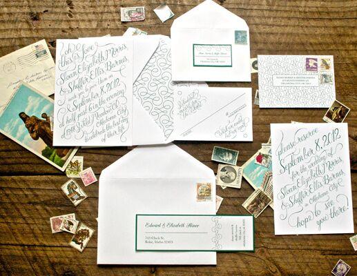 7 Hot Wedding Invitation Trends for 2012 Wedding Invitations
