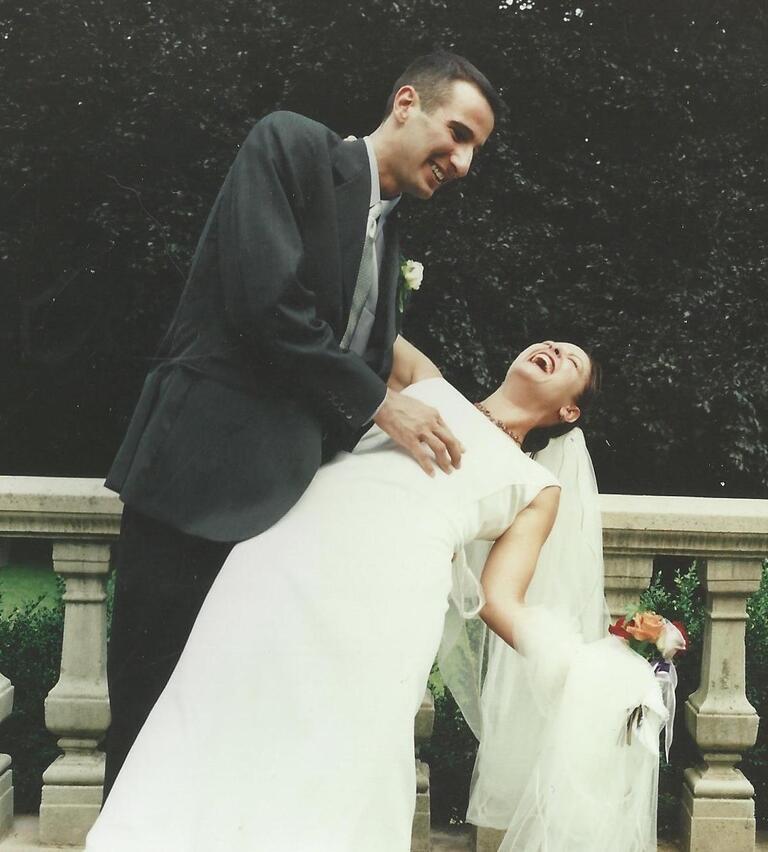 Suzanne Palmieri wedding photo