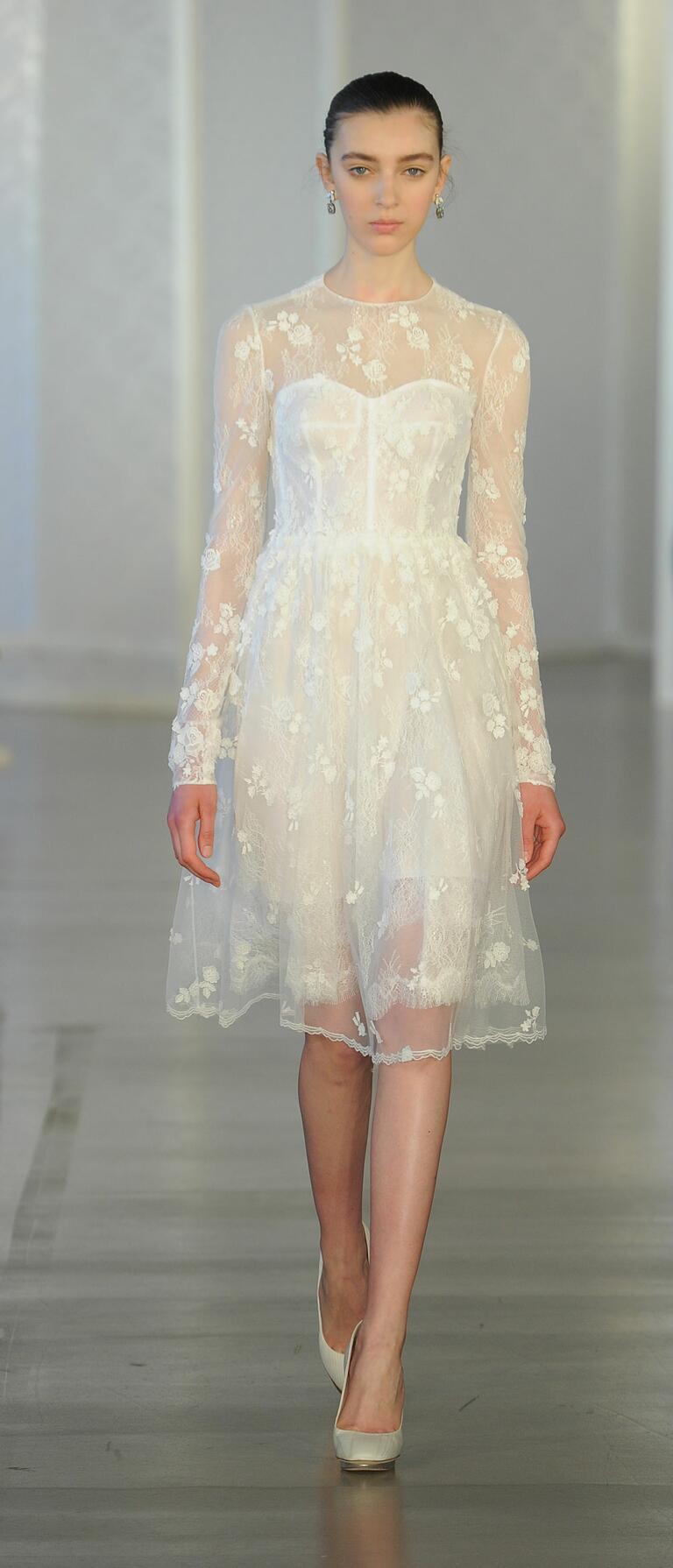 Oscar De La Renta Spring 2017 Collection Bridal Fashion