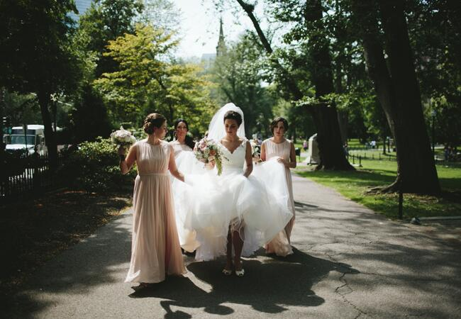 bridesmaids | Lime Green Photography | blog.theknot.com