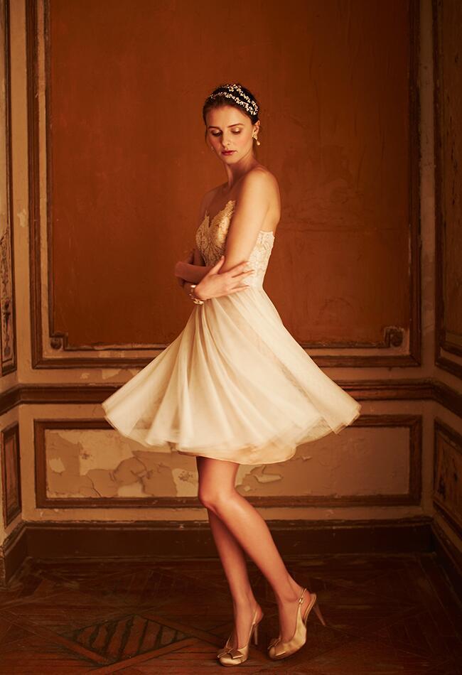 tulle dress|BHLDN|blog.TheKnot.com