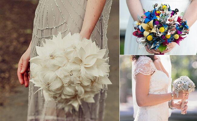9 Alternatives To The Classic Bridal Bouquet