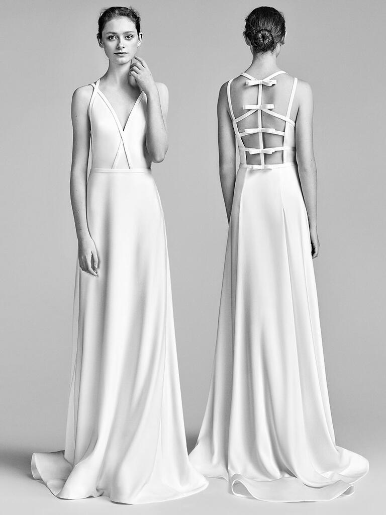 viktor rolf spring 2018 collection bridal fashion week photos. Black Bedroom Furniture Sets. Home Design Ideas
