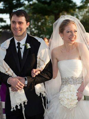 Chelsea Clintons Vera Wang Wedding Dress