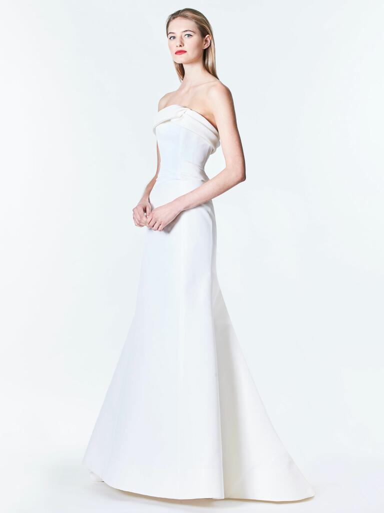Carolina Herrera Fall 2017 Bridal Fashion Week Photos