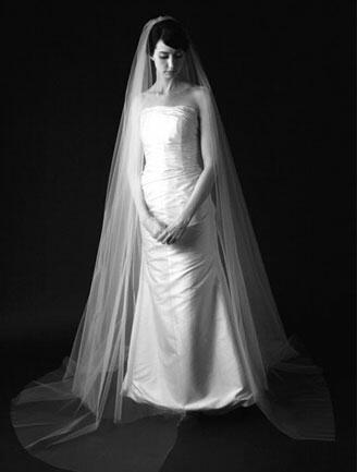 Sara Gabriel Two Tier Veil