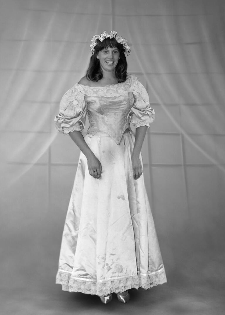 Ann Ogden Hausslien wedding dress from 1991