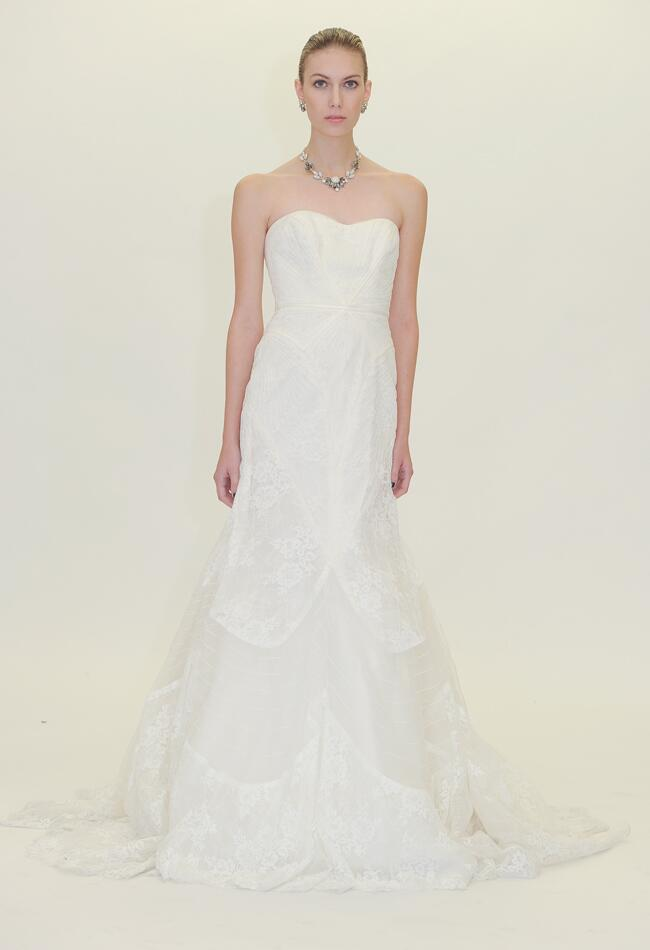 Truly zac posen s wedding dress collection featured for Zac posen wedding dress price