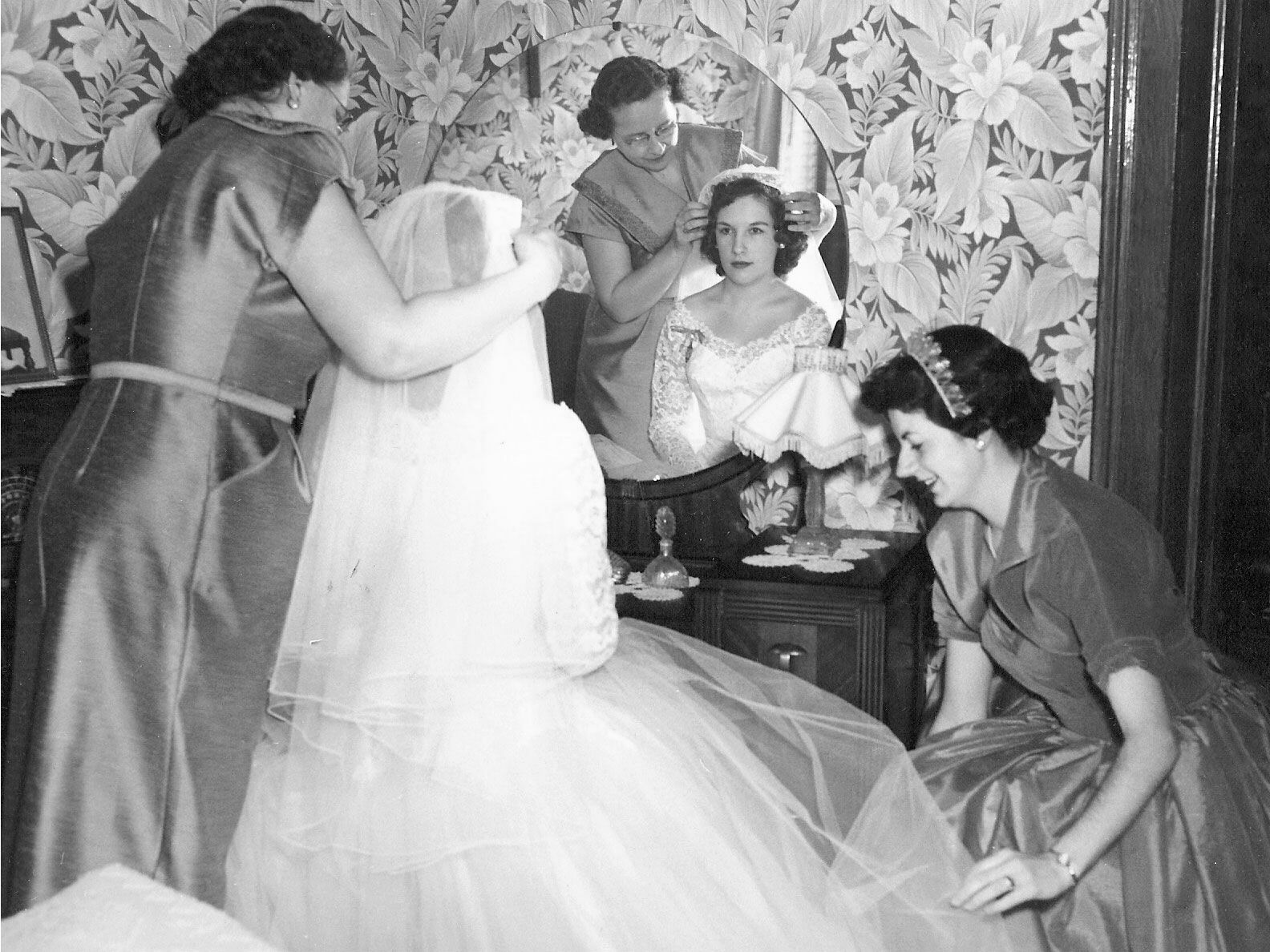 The Knot Editors\' Moms on Their Wedding Days