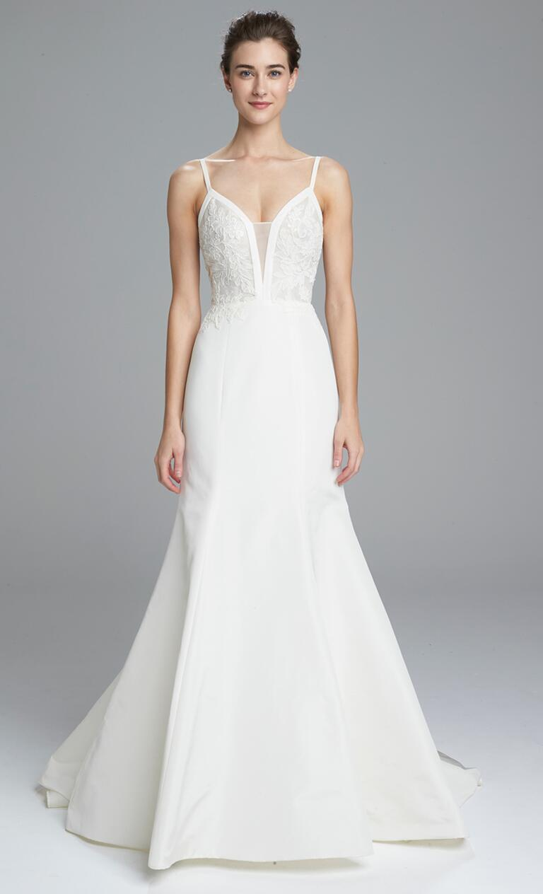 amsale spring 2017 collection bridal fashion week photos