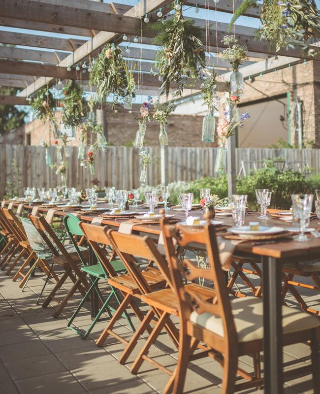 Organic Outdoor Rehearsal Dinner Style | Paper Antler | Blog.TheKnot.com