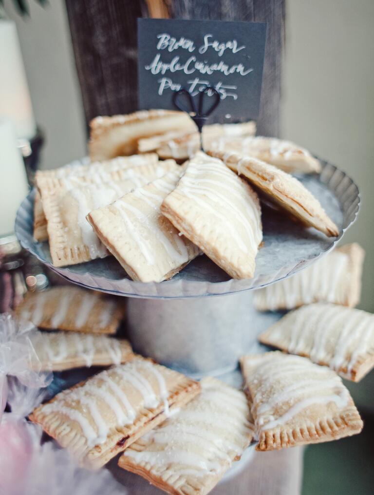 pop tart wedding dessert