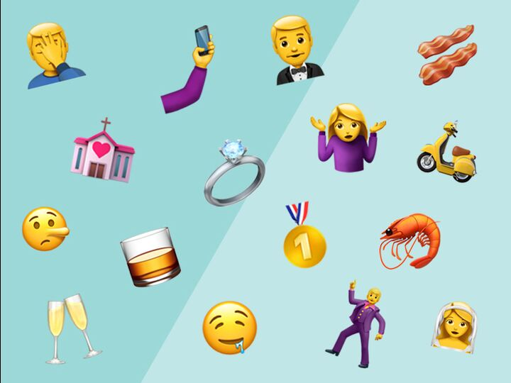 13 New Emojis That Perfectly Describe Wedding Planning