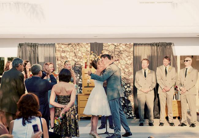 Mid-Century Modern Wedding Ideas |<img class=