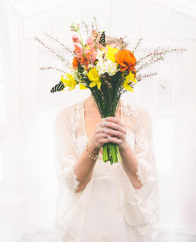 Butterfly Wedding Ideas Are Back | Photo: Arielle Vey