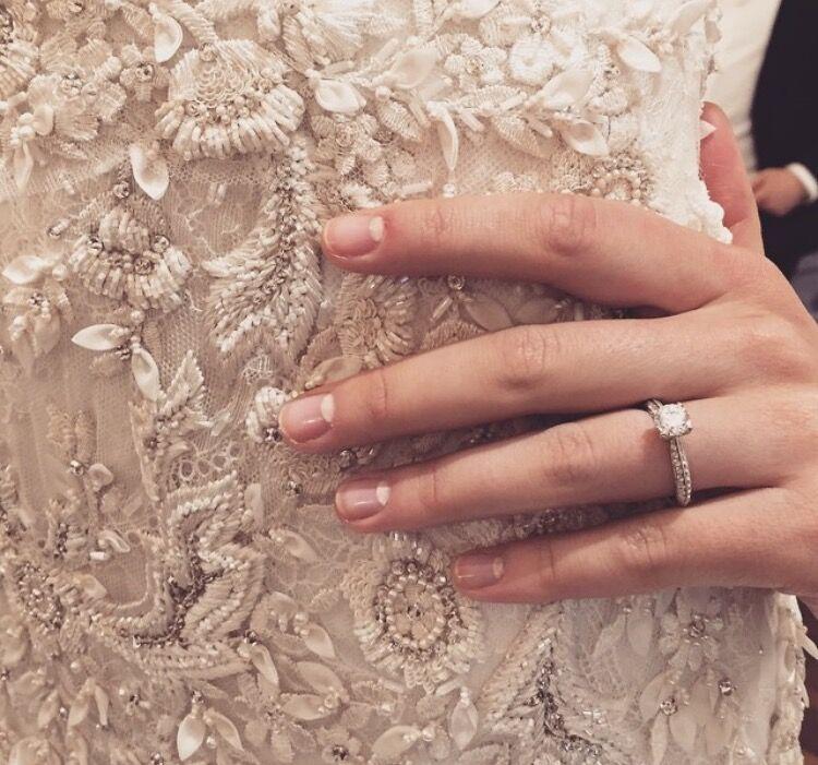 Nail Art Look From Marchesa Spring Summer 2016 Bridal Presentation