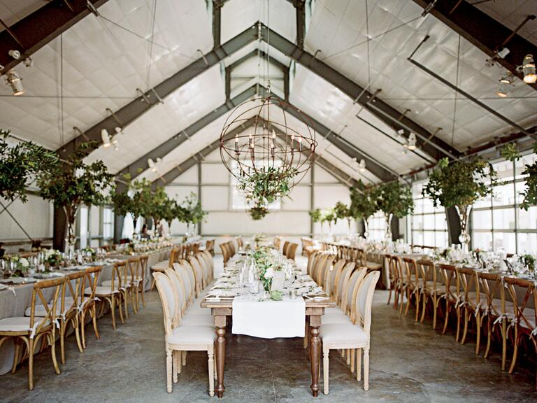how to make an outdoor country wedding dance floor