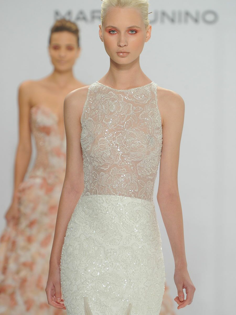 efa08a92a7e0 Mark Zunino for Kleinfeld Fall 2017: Feminine Silhouettes With Modern  Accents