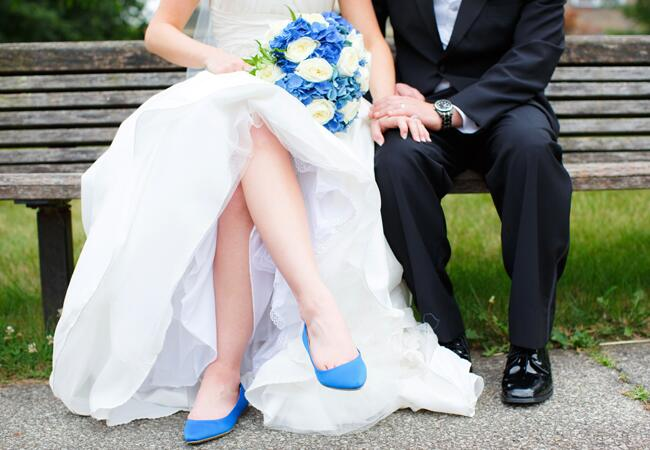 Brides Who Didn't Wear Heels