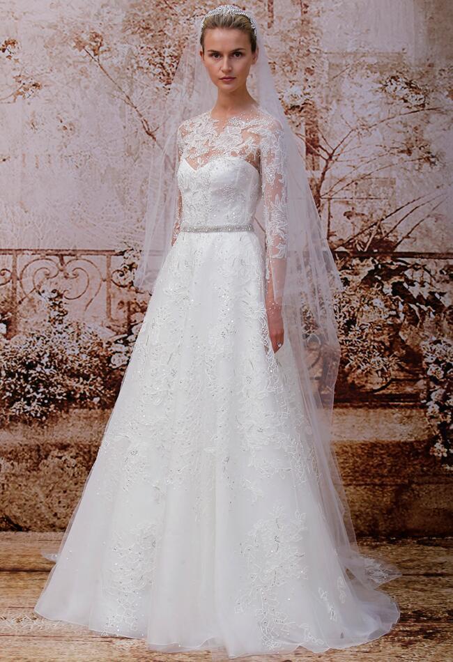 Monique Lhuillier Wedding Dresses Spring 2014