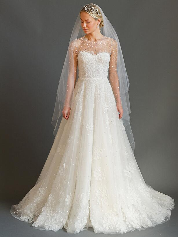 Sabrina Dahan A-line wedding gown