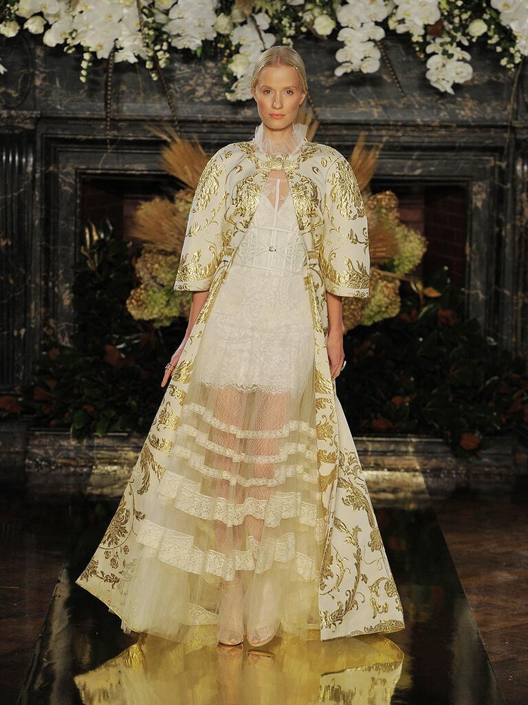 Yolan Cris Fall 2017 Collection Bridal Fashion Week Photos