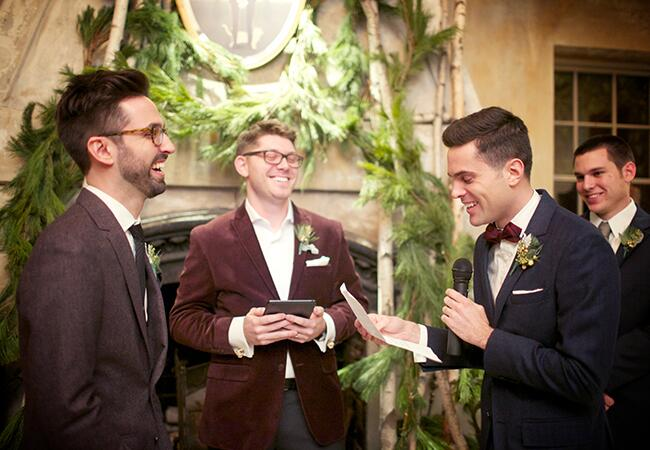 Photo: Weddings by Two // Featured: The Knot Blog