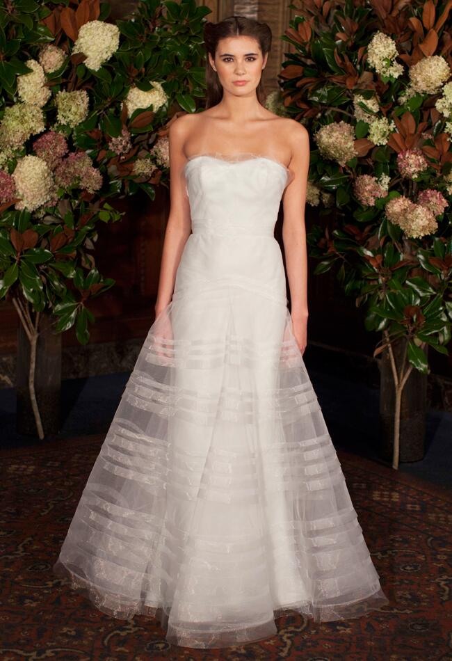 Austin Scarlett Wedding Dresses Fall 2015 Bridal Fashion Week Photos