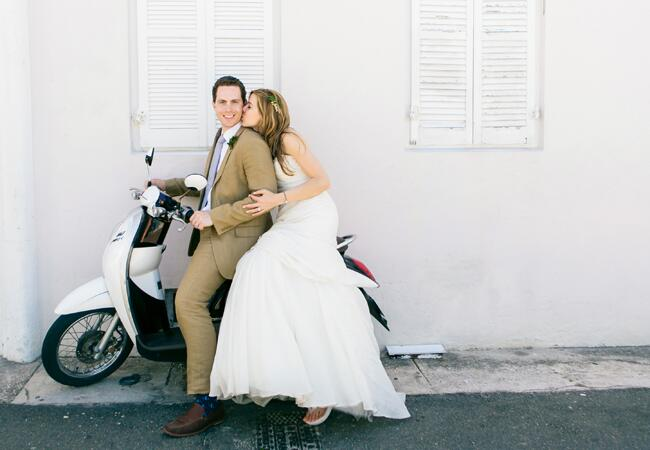 Photo: Heather Waraksa // Featured: The Knot Blog