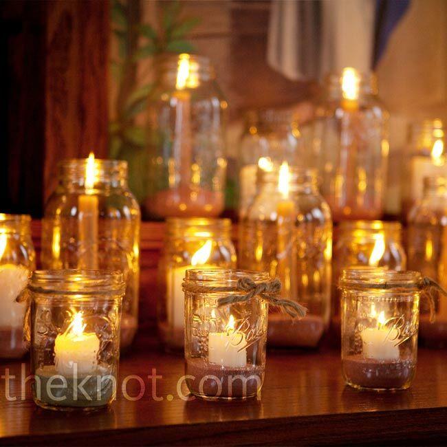 Candlelight Wedding Ceremony: Candle Ceremony Decor