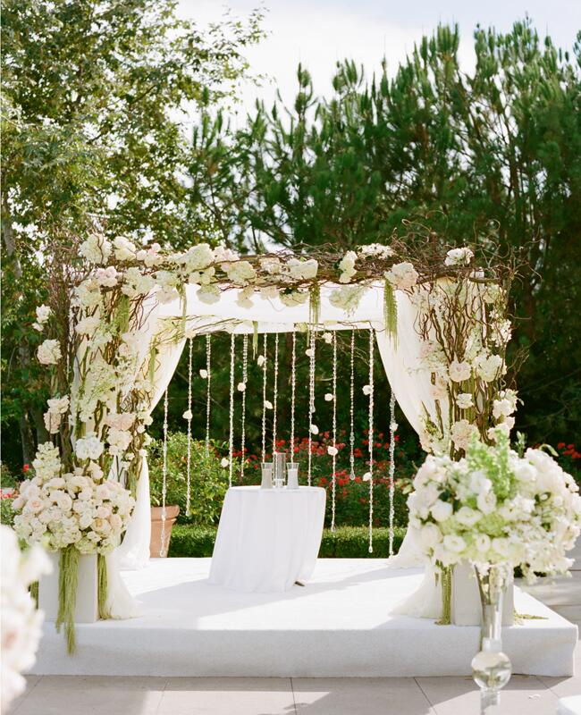 Best Diy Wedding: A Romantic All-White Wedding By Marisa Holmes