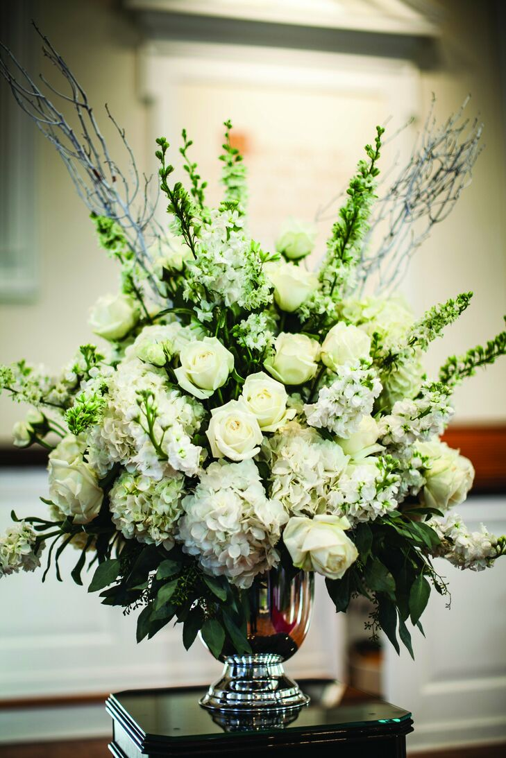 Large White Floral Arrangement
