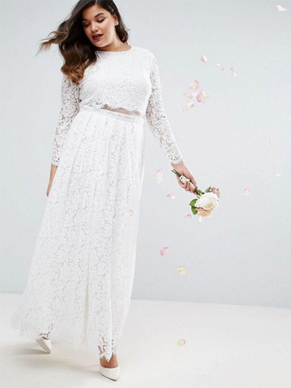 20 Gorgeous Plus-Size Wedding Dress You\'ll Love