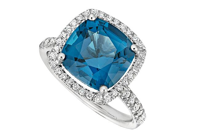 blue topaz/Jane Taylor/The Knot blog