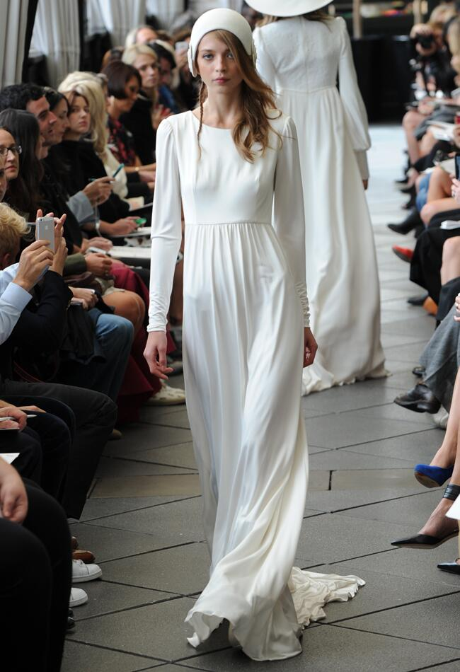 Delphine Manivet Fall/Winter 2015 Wedding Dresses | Kurt Wilberding | blog.theknot.com