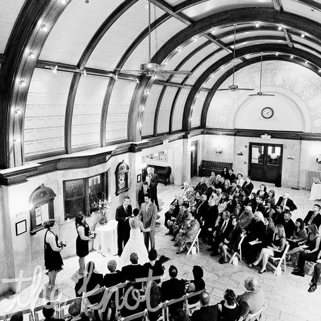 Home Depot Wedding Gift Registry: Train Depot Ceremony
