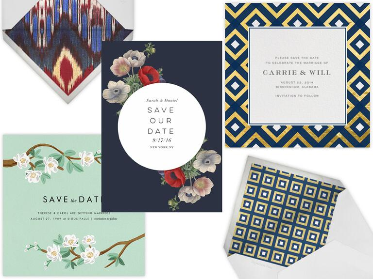 Digital save-the-date wedding etiquette and best places to shop