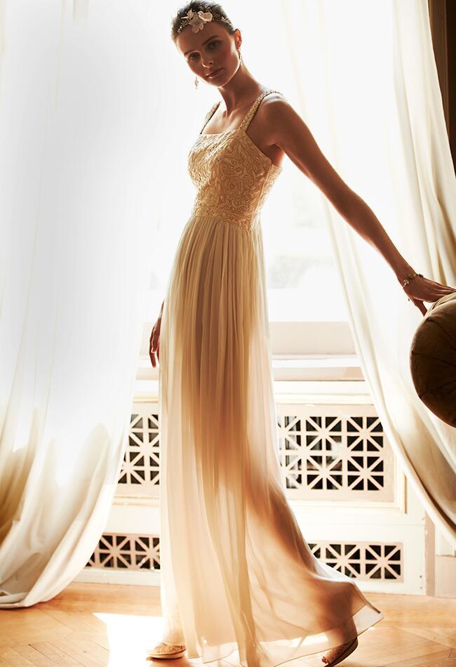 long tulle dress|BHLDN|blog.TheKnot.com