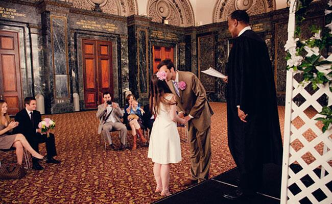 Civil Weddings at the Chicago Cultural Center