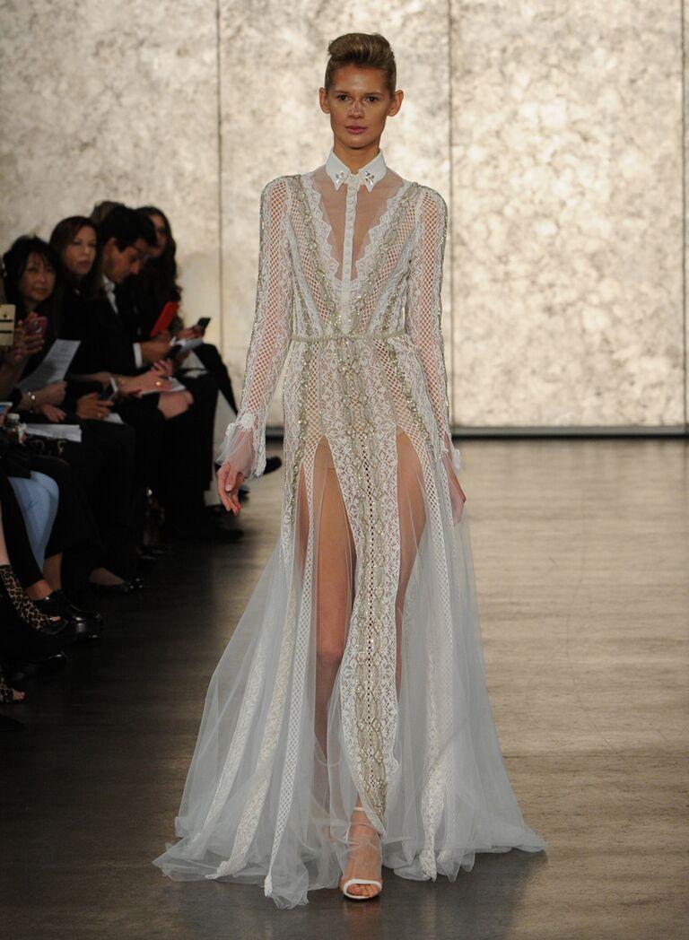 Inbal Dror Fall Winter 2016 Collection Bridal Fashion Week Photos